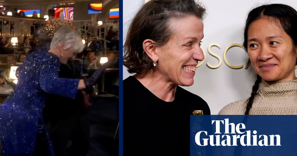 Key Oscars moments: from the historic to the hilarious – video