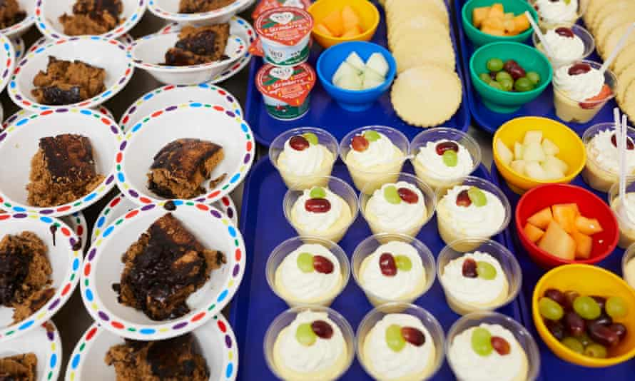 Puddings at Stanley Road primary School in Oldham