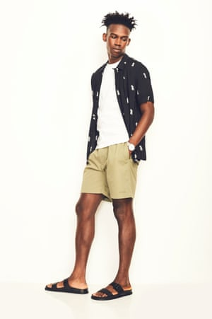 Five ways to wear... men's shorts – in pictures