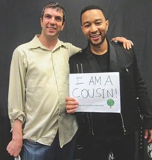 AJ Jacobs with John Legend.