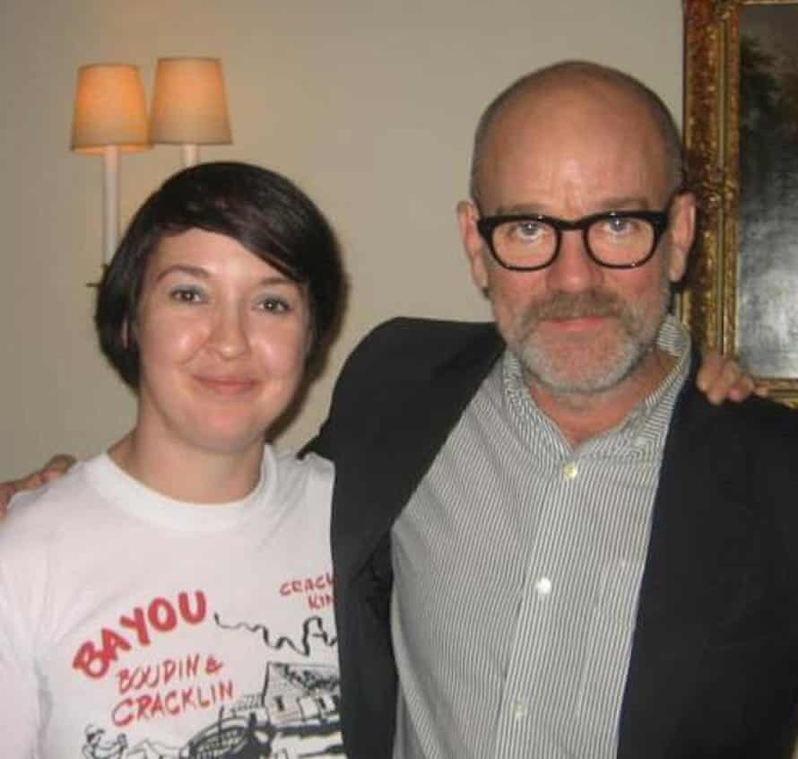Jude and Michael Stipe