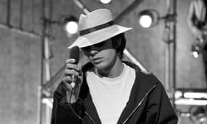 'He was the quintessential artist, and chased what he heard in what were probably his nightmares' ... Walker performing on Ready, Steady, Go, 1966.
