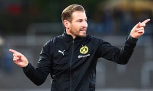 Borussia Dortmund under-23 coach Jan Siewert.