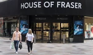 House of Fraser's Cardiff store