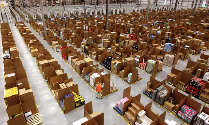 Amazon 1m sq ft warehouse at Dunfermline