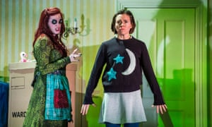 Kitty Whately (Other Mother), left, and Mary Bevan, 'quite a grown-up 11-year-old', in the title role of the Royal Opera's Coraline.