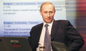 Vladimir Putin, former director of the FSB.