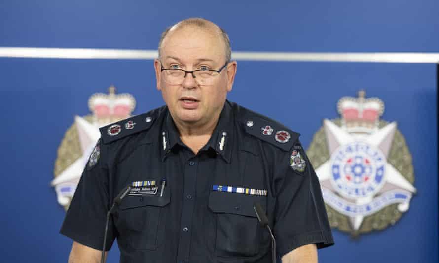 Victoria Police Chief Commissioner Graham Ashton