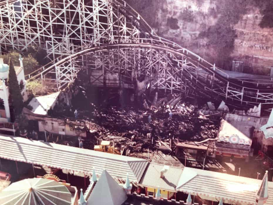 The aftermath of the 1979 ghost train fire