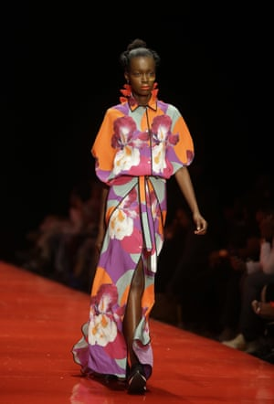 Lifestyle and fashion brand Gavin Rajah showcased a collection of modern prints