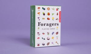 Kikkerland foragers playing cards