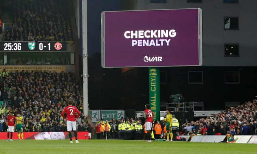 "The only change to VAR will see graphics that currently read ""checking penalty"" expanded to say, for example, ""checking penalty – possible handball""."