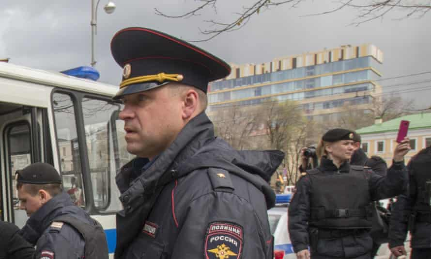 Russian police have detained Ildar Dadin, the first and only person to have served prison time for contravening a law clamping down on protests.