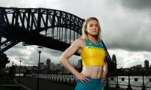 Defending champion Sally Pearson
