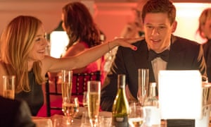 Does this have polonium in it? … Rylance as Rebecca Harper and James Norton as Alex Godman in McMafia.