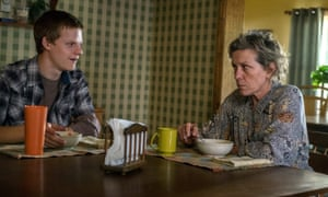 Lucas Hedges and Frances McDormand in Three Billboards Outside Ebbing, Missouri.