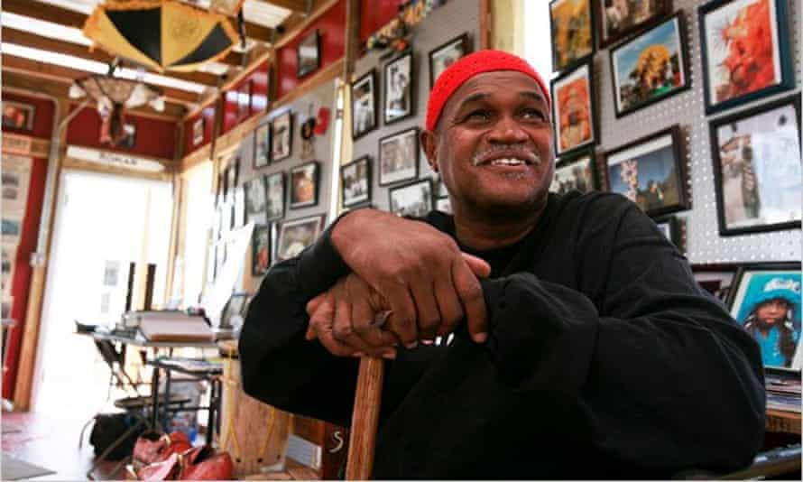 Ronald Lewis at his mueseum, the House of Dance & Feathers, in New Orleans, Louisiana.