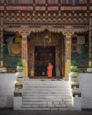 Golden temple, Bhutan.