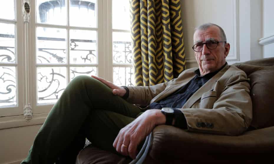Bruno Latour at home in Paris in May.