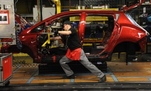 Car factory worker