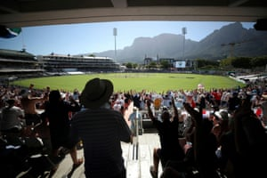 A look at Newlands from earlier in the tour.