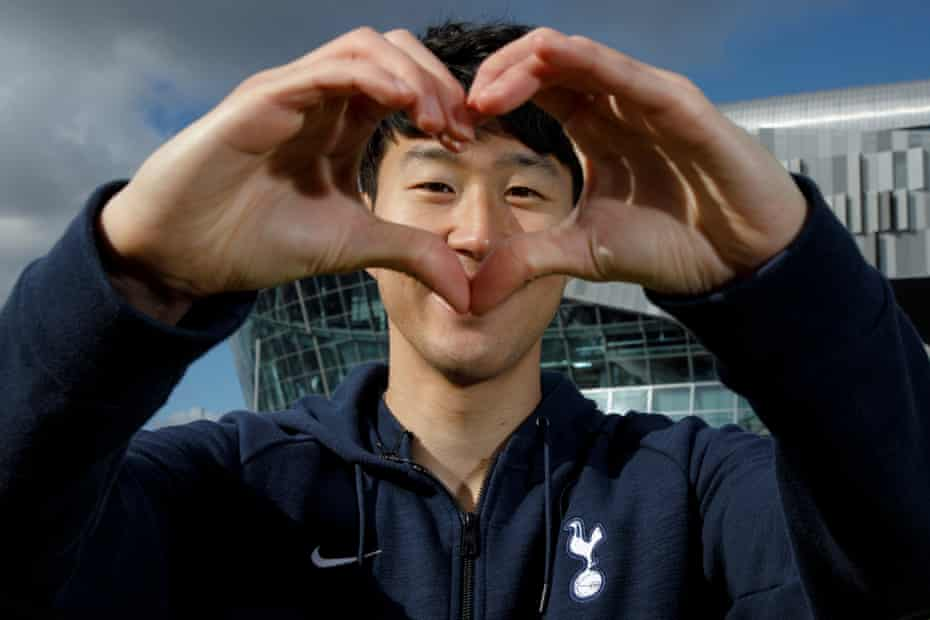 Son Heung-min says he wants to pay back his fans with his performances. 'I just want to make sure that I make everyone happy by playing at the top level.' he says