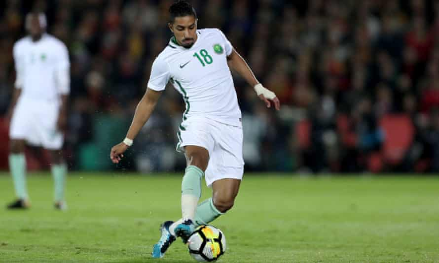 Salem al-Dawsari has been loaned to Villarreal until the summer when he is expected to play a prominent role in Saudi Arabia's World Cup campaign in Russia.