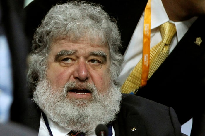The late Chuck Blazer.