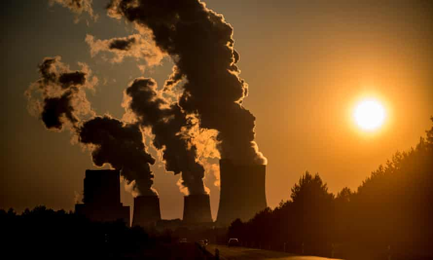A coal-fired power station. 'Massive CO2 extraction' costing trillions is needed in order to avoid runaway temperature rises, says a new paper.