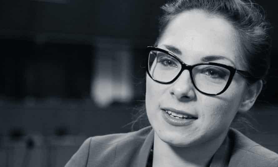 Passionate activist Katarzyna Szymielewicz