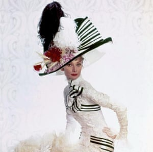Audrey Hepburn in My Fair Lady in 1964.