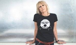 Radiates cool … Chrissie Hynde.
