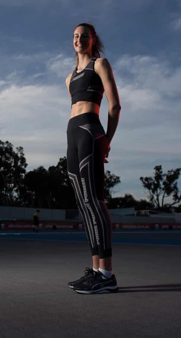High jumper Nicola McDermott