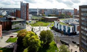 Aston University's new campus.