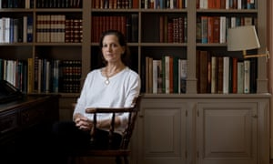 Anne Applebaum at her home in northern Poland.