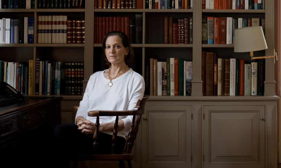 Anne Applebaum photographed last week at her home in Poland.