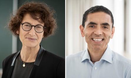 Dr Özlem Türeci and Dr Uğur Şahin