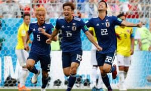 先制して追い付かれた日本は、大迫勇也の決勝ゴールでコロンビアを相手に2−1の勝利を収めた。