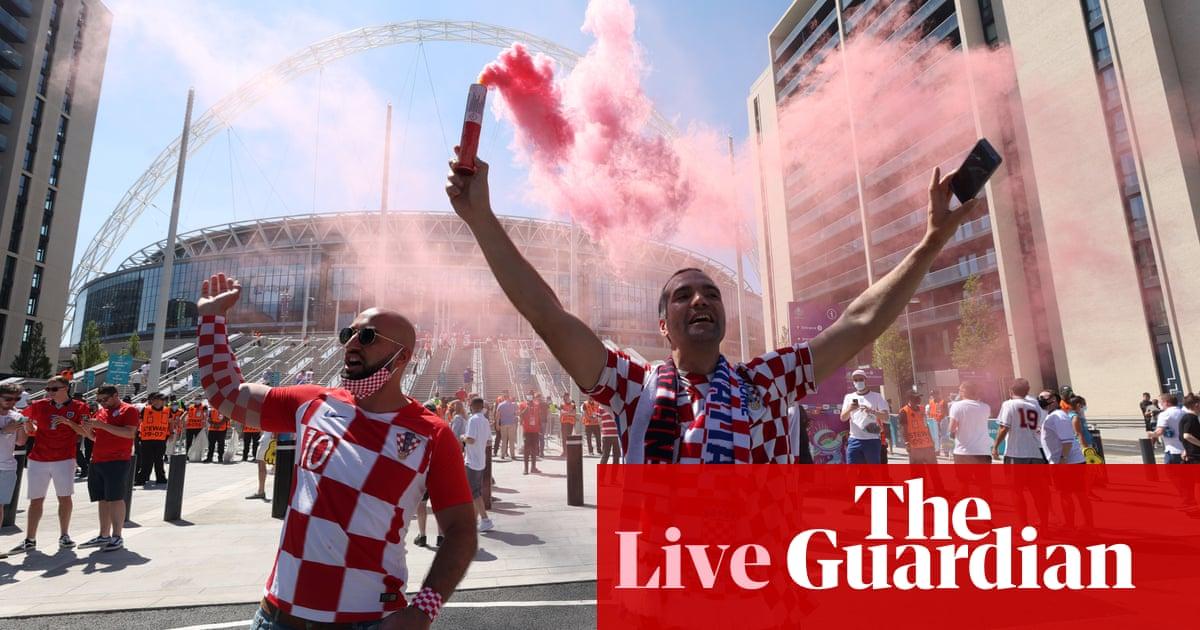 England v Croatia: Euro 2020 – live!