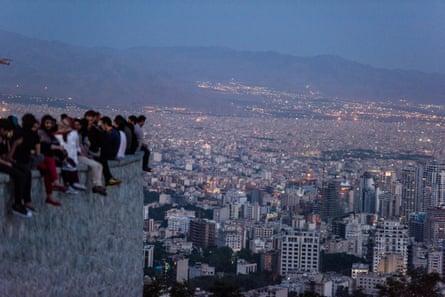 The Roof of Tehran, 2016, by Tahmineh Monzavi
