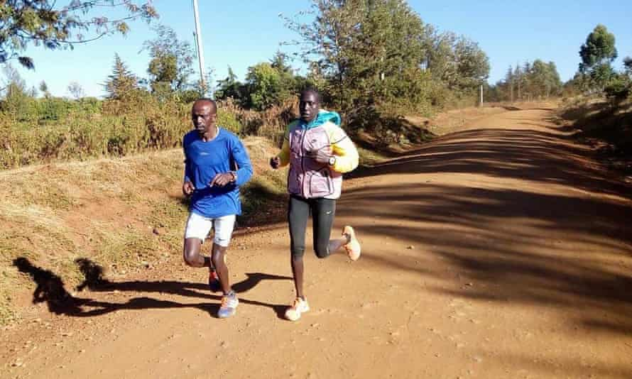 Francis and Risper training in Kenya