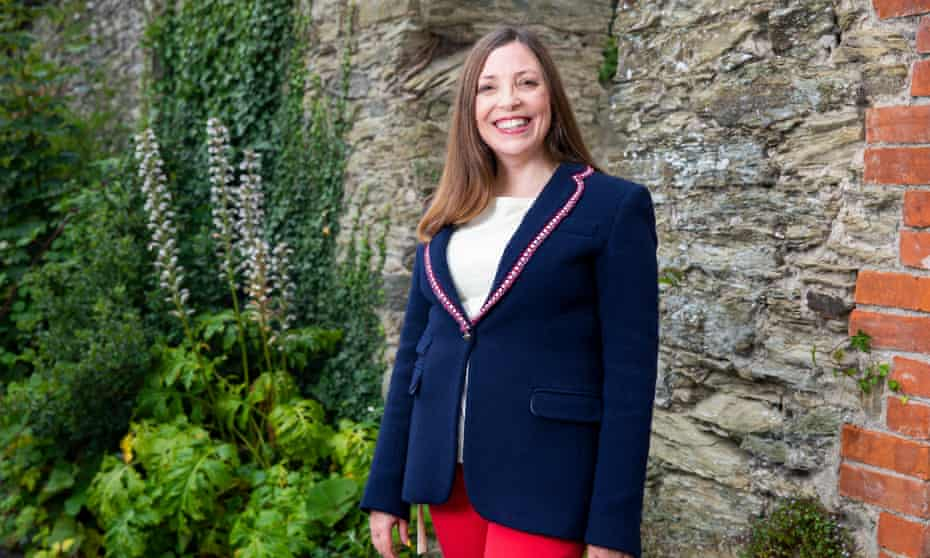 Rachel Kitley, the headteacher of Cowes Enterprise College on the Isle of Wight.