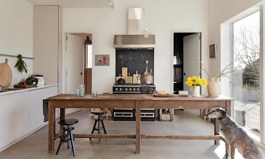 Hiding In Plain Sight A Modern Barn East Sussex Interiors The Guardian