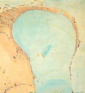Lake Eyre, 1975, by John Olsen