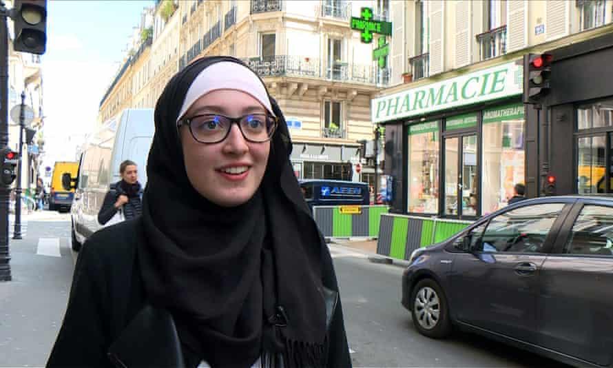 Maryam Pougetoux in Paris.