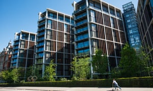 One Hyde Park apartments in Knightsbridge, London.