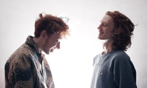Musician King Krule and his brother Kack