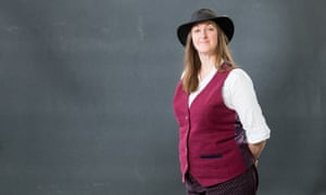 Access all ages … Frances Hardinge, whose YA novel The Lie Tree won the Costa book of the year.
