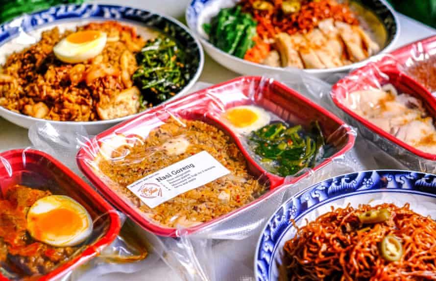 Ready To Eat Meal Nasi Goreng from Ho Jiak restaurant.