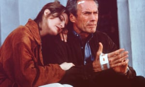 Clint Eastwood and Rene Russo in In the Line of Fire